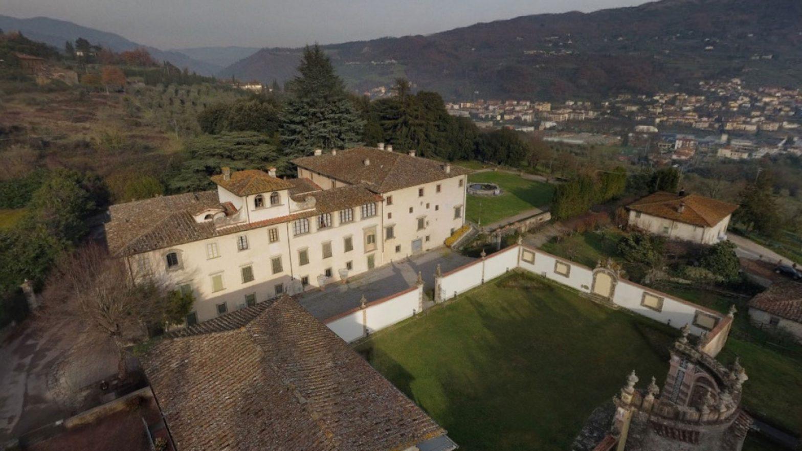 Ripresa Aerea a 360° Villa del Mulinaccio - EMME4 Virtual Tour Foto Video